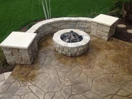 Rock Patio Design 24 Amazing Stamped Concrete Patio Design Ideas Remodeling Expense