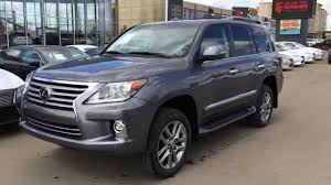 used 2015 lexus lx 570 2014 lexus lx 570 4wd ultra premium package review gray on