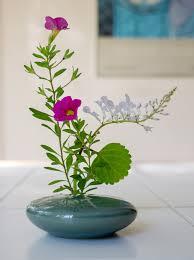 Japanese Flower Arranging Vases Ikebana Vase And Flowers Ginger Wroot
