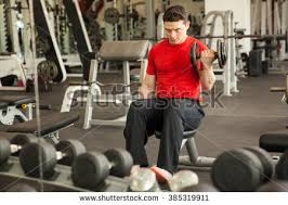 Bench Bicep Curls Bicep Curl Stock Images Royalty Free Images U0026 Vectors Shutterstock