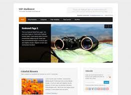 wordpress premium theme wp radiance