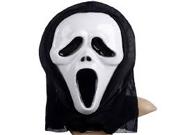 halloween plastic mask for fashion party scary horror mask