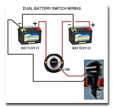 2 battery boat wiring diagram guest marine battery switch wiring