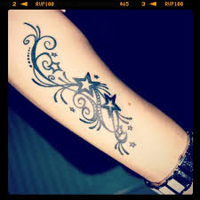 wonderful forearm with amazing stars tattoo idea 2 golfian com