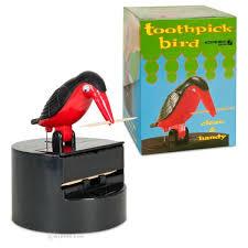 bird toothpick dispenser toothpick bird dispenser archie mcphee co