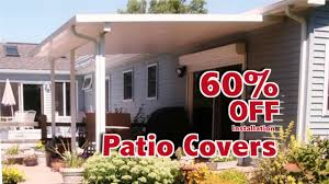 Aluminum Patio Covers Sacramento by D U0026w 60 Off Sunrooms Patio Covers U0026 Awnings Youtube