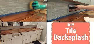 DIY Bathroom Tile Backsplash Splendry - Covering tile backsplash