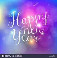 happy new year backdrop happy new year bokeh lights greeting card background eps10 stock