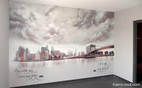 chambre theme new york déco peinture chambre fille new york nancy 36 peinture salon