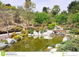 Balboa Park Botanical Gardens by Japanese Garden At Balboa Park San Diego Stock Photo Image
