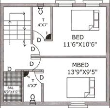 row house floor plan 1053 sq ft 2 bhk floor plan image rajeswari infrastructure row