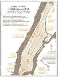 Pop Vs Soda Map Cartography And Illustration Wickquasgeck Trail Manhattan Island