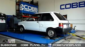 subaru justy rally cobb tuning dyno 46 whp 57 wtq 1991 subaru justy cobb
