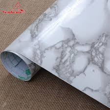 vinyl paper for kitchen cabinets 3m vinyl marble waterproof self adhesive wallpaper roll for bath