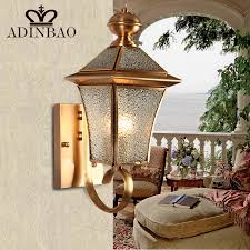 Copper Wall Sconce Lights Aliexpress Com Buy Vintage Copper Wall Sconce Antique Garden