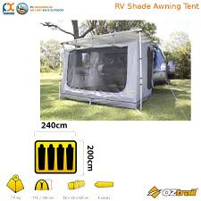 Tent Awning In Stock Oztrail Rv Shade Awning Tent Shelter Camping 4wd Suv