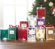 slatkin u0026 co set of 5 holiday scented 9 5 oz candles with gift