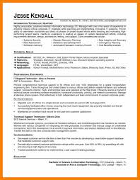 It Technician Resume Examples 9 it support technician cv biology resume