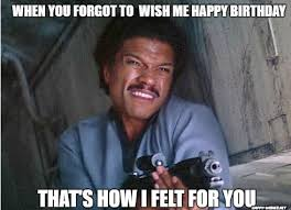 Birthday Meme Funny - best star wars funny happy birthday meme happy wishes