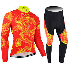 winter cycling jacket winter thermal fleece cycling jersey with pants winter thermal