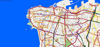 Beirut On Map City Maps Beirut