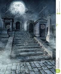 graveyard clipart graveyard stairs stock illustration image 43191940