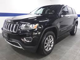 2014 jeep sunroof used 2014 jeep grand limited 4x4 w leather sunroof and