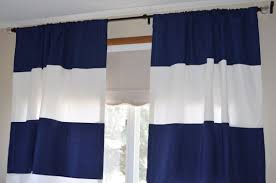Navy Blue And White Curtains Navy Blue And White Curtains Furniture Ideas Deltaangelgroup
