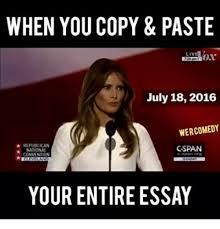 Meme Copy And Paste - when you copy paste july 18 2016 wercomedy republican c span