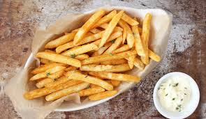 baked french fries with truffle aioli tnp originals u2013 the new potato
