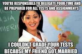 Unhelpful Highschool Teacher Memes - teacher responds to bad teacher memes