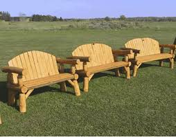 Log Outdoor Furniture by Handmade Loveseat Log Bench Wood Loveseat Outdoor Log Furniture