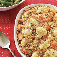 cauliflower carrot casserole recipe myrecipes