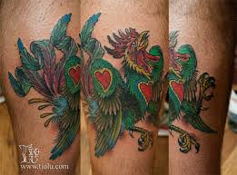 portuguese rooster tattoos by tiolu