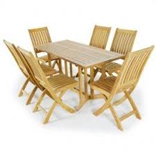 Folding Table With Chair Storage Teak Folding Tables Foter