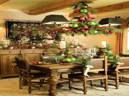 christmas decorating ideas for dining room buffet decorin