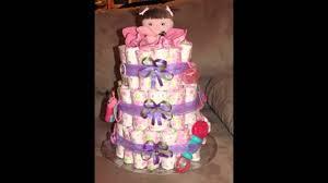 diaper cake decorations ideas youtube