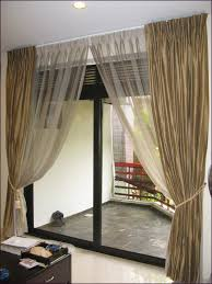 Decorative Double Traverse Curtain Rod by Interiors Patio Door Curtains Curtains And Blinds Linen Curtains