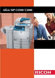 ricoh all in one printer aficio mp c3000 pdf user u0027s manual free
