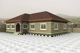 stunning 4 bedroom bungalow floor plans in nigeria first bungalow