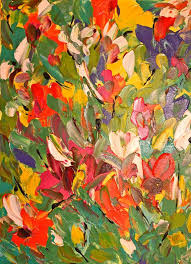 original modern impressionistic painting 16x20 by poetryincolor 150 00