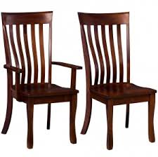 Mission Dining Room Chairs by Mission Dining Room Set Solid Wood Trestle Table Dining Chairs