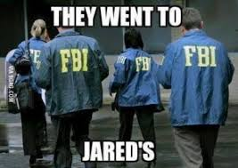 they went to jared s is it funny or offensive