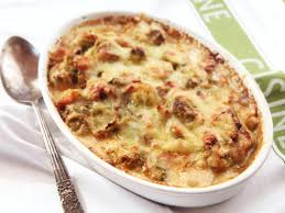 thanksgiving brussel sprout recipes the food lab this creamy cheesy brussels sprouts gratin just