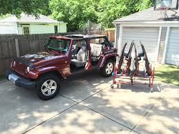 jeep hardtop removal the door cart topoff