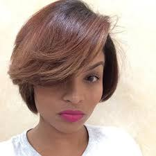 pictures of mixed race a line bobbed hair 50 short hairstyles for black women stayglam