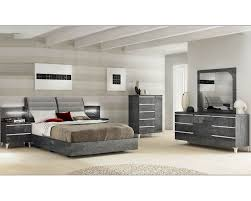 Modern Queen Bedroom Set Contemporary Italian Bedroom Furniture Silver Style Contemporary