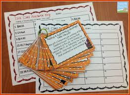 Halloween Crafts For 6th Graders by Teaching With A Mountain View Adding And Subtracting Decimals