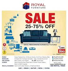 royal furniture 25 75 off sale discountsales ae discount