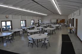 Party Tables And Chairs For Rent Williams County Conservation League Hall Rental